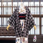 京都きもの町のオリジナル羽織の単品です。 長めの丈なので、シルエットがすっきりと見えます。小紋や紬な...