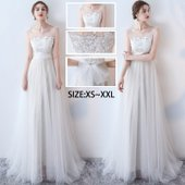 商品名:ウエディングドレス ロングドレス パーティードレス Aライン 結婚式 ウエディングドレス 演...