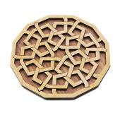 パズル 木製パズル コンパクトサイズ 木製のパズル ウッドパズル おしゃれ デザイン 木製玩具 知育...