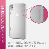 エレコム iPhone XR ケース AQUA樹脂採用 薄さ0.6mm 本体をぎりぎりまで包み込む極...