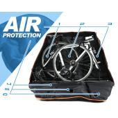 競技車両の運搬に特化した、最強の輪行バッグ。  軽量なカーボン素材やアルミ素材を使用する競技車両。 ...