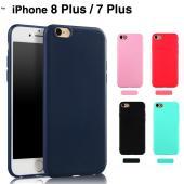 iPhone8 Plusケース ソフトケース iphone7Plusカバー アイフォーン7 プラスケ...