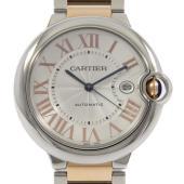 メーカ/ブランド:カルティエ 商品名:カルティエ W6920095 バロンブルー PGコンビ 自動巻...