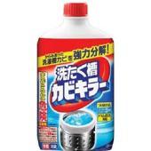 ・からみあった洗濯槽カビを強力分解! ・カビ胞子除去率は99.9% ・ドラム式の洗濯機にも使えます