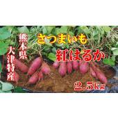 5kg(2.5kgx2)以上で送料無料! 熊本県大津産「紅はるか」販売期間:11月〜7月 この紅はる...
