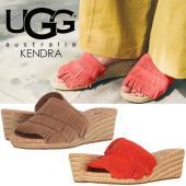 商品名:UGG アグ サンダル レディース ケンドラ KENDRA 1019889 フリンジ ウェッ...