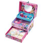 キラキラかわいいディズニープリンセスのラブリーボックスがピンク×パープルのちょっとオトナなカラーにな...