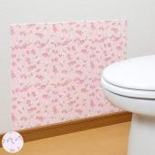 簡単に貼って剥がせる吸着・消臭加工のトイレの壁面汚れ防止シートです。貼るだけで、壁面へのおしっこ等の...
