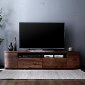 [サイズ] TVボード:W177.6xD44.5xH43cm サイドチェスト:W89xD44.5xH...