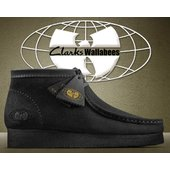 CLARKS WALLABEE Wu Tang Clan BLACK SUEDE クラークスの代名詞...