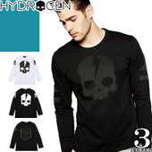 ◇HYDROGEN(ハイドロゲン)のロンT、Tシャツ  ◆サイズ [M/L/XL 約cm ] ┣着丈...