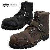 ■商品概要■ アルファ インダストリーズ エンジニアブーツ AFB-20021 アッパー:天然皮革(...
