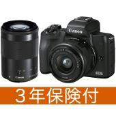 ・EOS Kiss M ブラック本体 + EF-M15-45 F3.5-6.3 IS STM 標準ズ...