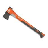 建設・林業作業向けに作られた斧。ヘッドは摩擦が少なく木に入りやすいテフロン加工を施しており、ヘッドに...