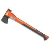 中サイズの丸太用に最適な薪割り斧。ヘッドは摩擦が少なく木に入りやすいテフロン加工を施しており、ヘッド...