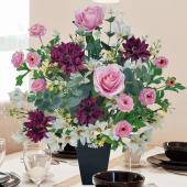 ■アートフラワー(光触媒造花)光の楽園 フレグランスは、お部屋のアクセントや空間に彩りを添え、空気を...