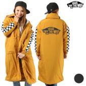 【VANS】バンズのレディースジャケット。 たっぷりと詰まった中綿が暖かいレディースロングコートが ...
