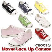 1c60425aa05cd8 CROCS Hover Lace Up Canvas W クロックス フーバー レースアップ キャンバス レディース 女性用 スニーカー