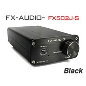 FX-AUDIO- FX502J-S[ブラック] TPA3250搭載50W×2ch プリメインアンプ