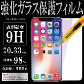 iPhone前面(ディスプレイ)用 9H保護ガラスフィルム   iPhoneの美しいRetinaディ...