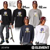 【ELEMENT/エレメント】メンズ 長袖Tシャツ{AE022-051} ELEMENT 2014 ...