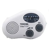 (中古品) TOSHIBA 防水充電ラジオ CUTEBEAT TY-JR11(W)  【メーカー名】...