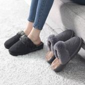 サボサンダル レディース キルティング フェイクファー 2017 秋冬 ファッション 靴 婦人靴  ...