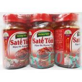 ベトナム料理にかかせない【サテトム】 3個セットです。  レモングラスの香りとエビのうまみがギュッと...