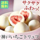 もぎたてのイチゴを瞬間凍結乾燥し、滑らかな口どけのホワイトチョコでコーティング。最高級クーベルチュー...