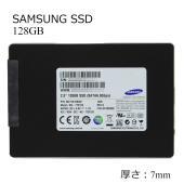中古SSD 2.5インチ SAMSUNG 128GB SATA 6.0Gbps 7mm 内蔵ハードデ...
