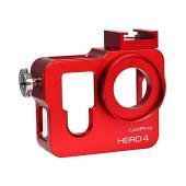 [MENGS] アルミ合金製 ハウジングメタル 保護ケース 37mmのUVフィルター ,Gopro ...
