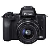 2682C002 Canon キヤノン ミラーレスカメラ EOS Kiss M EF-M15-45 ...