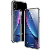 ESR iPhone XR ケース 6.1インチ 強化ガラス 9H硬度加工 ガラスケース 薄型 全透...