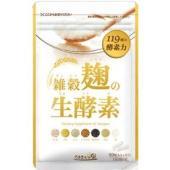 「雑穀麹の生酵素」には、栄養豊富な7種類の雑穀からできた麹酵素に、小麦ふすまからできたダイジェザイム...