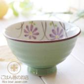 鮮やかなカラーのご飯茶碗。 こんなデザインのご飯茶碗が欲しかった!★ ふんわりと軽い!これが有田焼・...