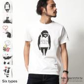話題のグラフィックアーティスト【bankcy/バンクシー】のアートTシャツの登場です。  なにかと話...