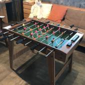 本格的な木製のテーブルサッカーゲームです。  みんなが集まる所に最適なテーブルゲームです。 ホテル・...