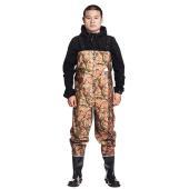 【品名】:防水透湿ウェーダー 【素材】:本体/PVC+Knit Fabric          ブー...
