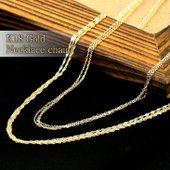 お得な18金(K18)ゴールドチェーン ネックレス。  年齢問わず幅広い層にお使いいただけるシンプル...