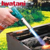 入手が簡単なイワタニカセットガスが燃料の、木材着火用トーチバーナーです。 火力調整つまみで炎の強弱が...