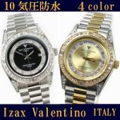 「アイザックバレンチノ」から上質な宝飾時計が登場。 10気圧防水 仕上げがゴージャスなおすすめ品☆ ...