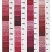 25番刺しゅう糸です♪  ●1かせ・8m(6本撚り)  ※多少色が異なって見える場合がございます。あ...