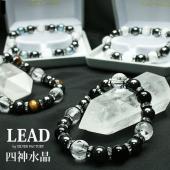 ■商品名■ 四神水晶×ヘマタイト×天然石ブレスレット  ■サイズ■ 【内径 約 17cm】 四神水晶...