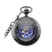 レトロ・スチームパンク系の懐中時計です。 デイリー使いやお出掛け、デートなど場所や季節を問わないレト...