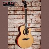 オール単板・オールハンドメイドのAyers NewHillシリーズモデルです。ギター講師兼ギター開発...