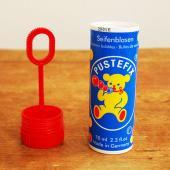 シャボン玉といえばドイツの定番メーカー『プステフィックス』社。 愛らしいクマのマークでおなじみ。 5...