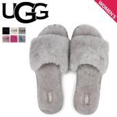 【世界中が認める大人気ブランド「UGG」!!】> ふわふわなファーが心地よいスライドサンダルC...