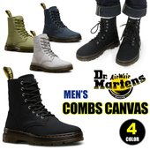 DR.MARTENSからTRACTシリーズ 『COMBS CANVAS 8 EYE BOOTS』が登...