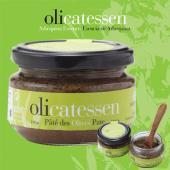 人気の高級オリーブ、アルベキーナ100%の塩漬けをペースト状にしたもの。オリカテセンブランドのオリー...