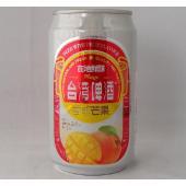 台湾で大人気の果物味のビールです! アップルマンゴーの果汁を使った、甘口で飲みやすい果物カクテル感覚...